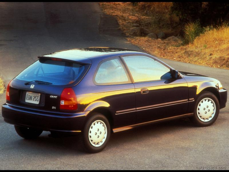 1995 honda civic hatchback specifications pictures prices for Honda civic hatchback dimensions