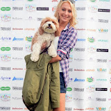 WWW.ENTSIMAGES.COM -    Ali Bastian  at        Pup Aid at Primrose Hill, London September 6th 2014Puppy Parade and fun dog show to raise awareness of the UK's cruel puppy farming trade. Pup Aid, the anti-puppy farming campaign started by TV Vet Marc Abraham, are calling on all animal lovers to contact their MP to support the debate on the sale of puppies and kittens in pet shops. Puppies & Celebrities Return To Fun Dog Show Fighting Cruel Puppy Farming Industry.                                              Photo Mobis Photos/OIC 0203 174 1069