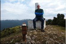 Olvedo-2 mendiaren gailurra 932 m. -- 2016ko martxoaren 18an