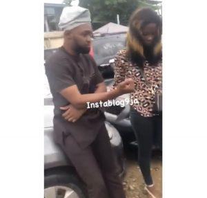 Man Disgraced By A Sex Worker In Lagos After Refusing To Pay Her (Photos & Video) 1