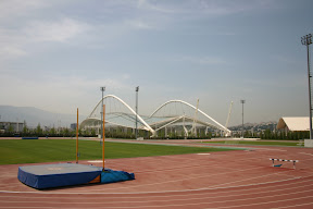 Practice track and Olympic Stadium, Athens