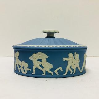 Wedgwood Lidded Jasperware Box