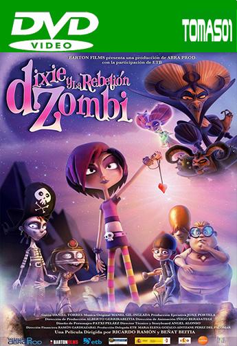Dixie y la rebelión zombi (2014) DVDRip