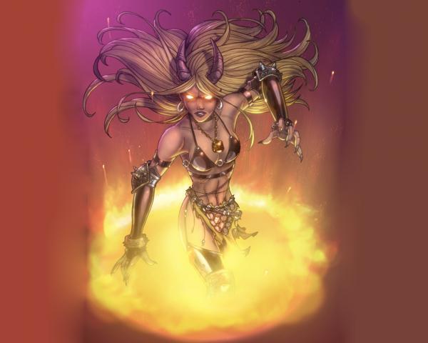 Dangerous Demoness From Hell, Dark Goddess
