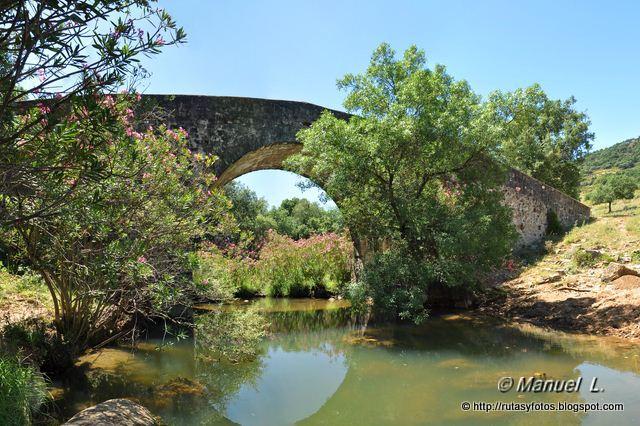Lagunas del río Campobuche por los Llanos del Cabrizal y Culantro