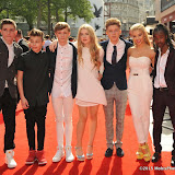 OIC - ENTSIMAGES.COM - Richard Whisker, Leondre Devries, Charlie Leneham, Anais Gallagher, Harvey Cantwell Molly Rainford and Akai Osei-Mansfield at the UK premiere of Up All Night at at Vue Leicester Square London 10th May 2015  Photo Mobis Photos/OIC 0203 174 1069