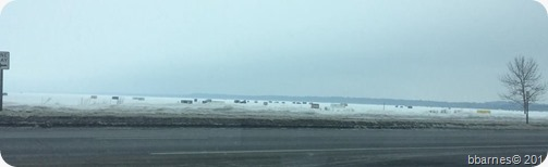 Icehouses on Lake Bemidji 01262018