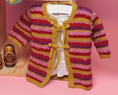 Lindo Chaleco Tejido A Palillo Para Bebe De 1 Ao Femenino Amarrado