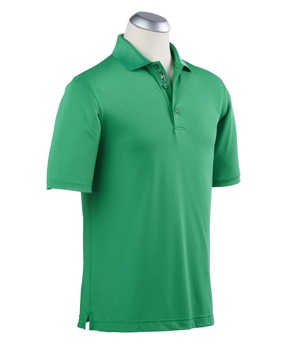 877d211e Aeropostale Mens A87 Solid Logo Pique Polo Shirt