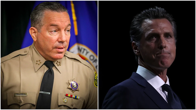 LA Sheriff Says He Won't Enforce Newsom's Stay-At-Home Order Against Businesses: Report