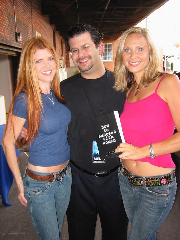 Ron Louis With Playboy Tv S Heather Grannath And Juli Ashton, David Copeland