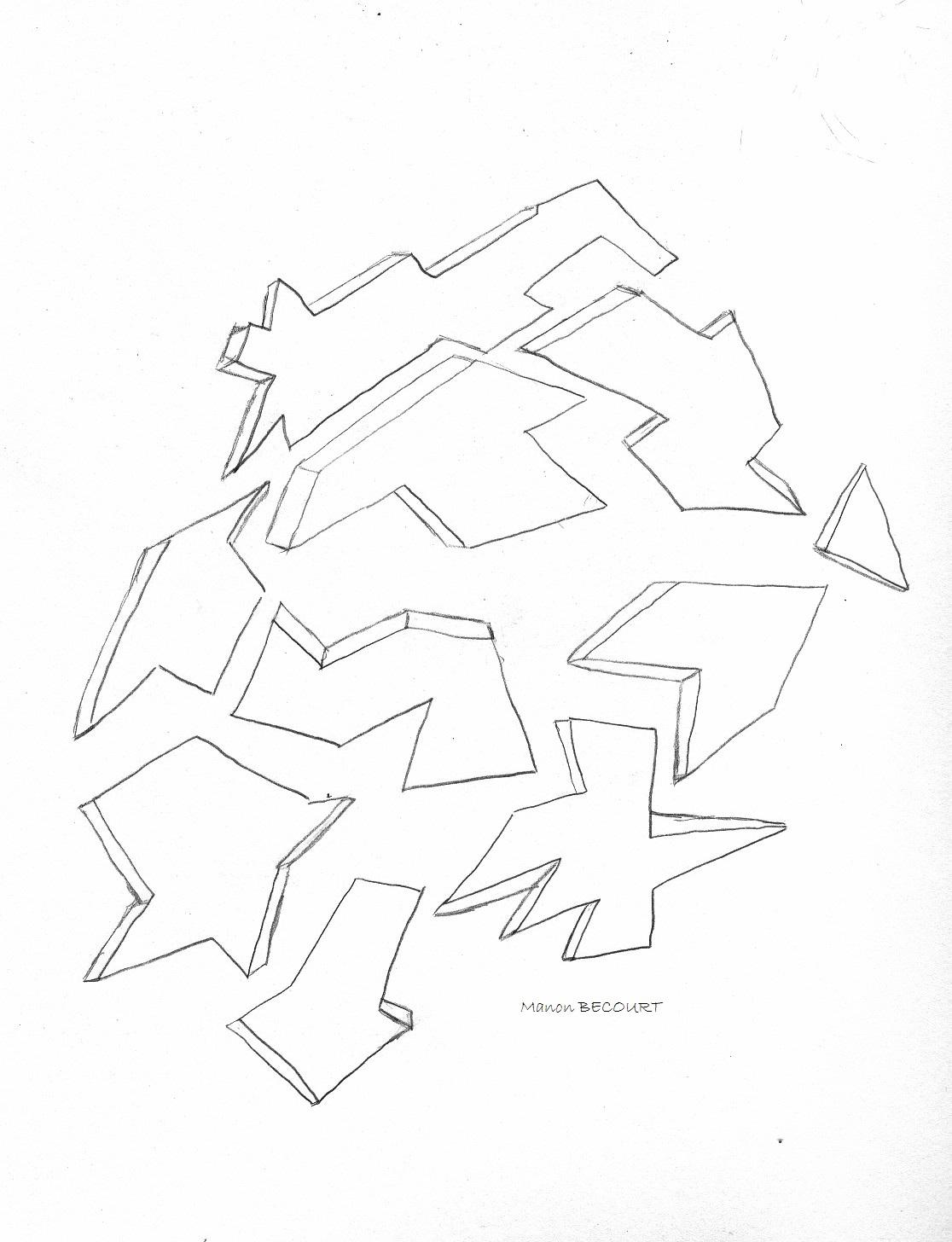 Dessin g om trique colorier - Coloriage geometrique ...