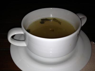 Soup at cafe Kranzler