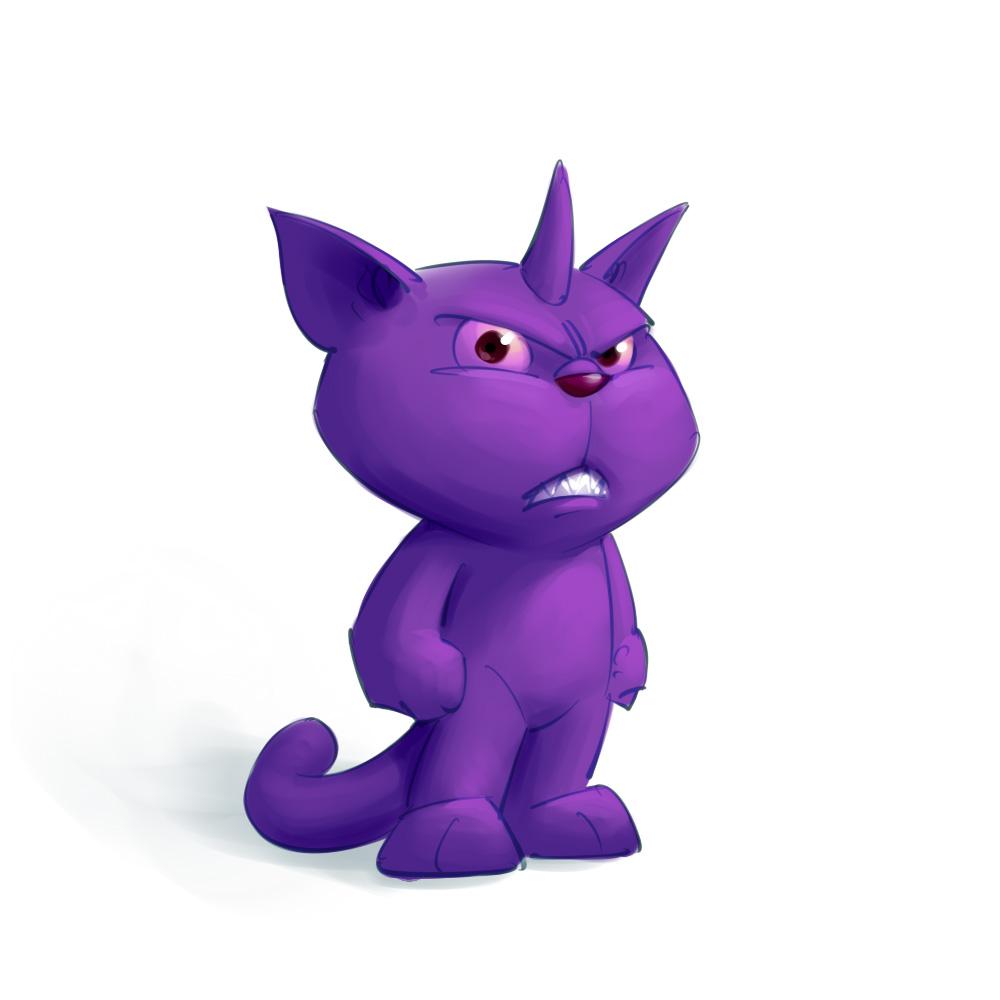 Imaginary friend mascot design