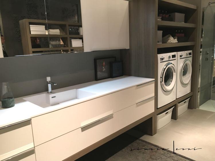 simona elle: SPAZIO TIME: lavanderia e bagno integrati in un ...