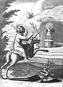 """Эмблема 41 из книги """"Pia desideria"""""""