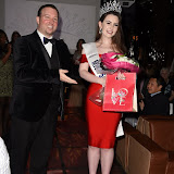 OIC - ENTSIMAGES.COM - Tomas Mace-Archer-Mills and The Winner Amelia Rushmore-Perrin at the  Miss GB South East pageant at DSTRKT London 18th July 2015 Photo Mobis Photos/OIC 0203 174 1069
