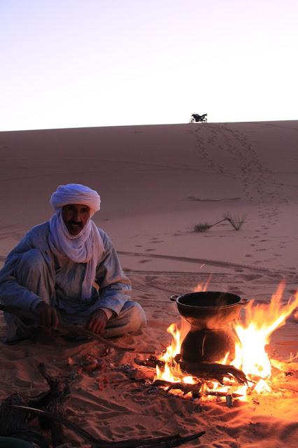 Desert campsite