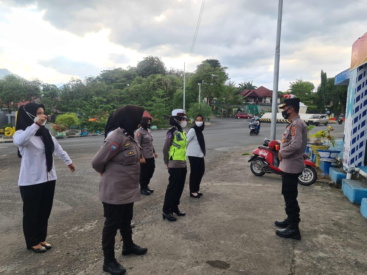 Kabag Sumda Polres Soppeng Pimpin Kegiatan KKYD di Lokasi Ramadhan Festival
