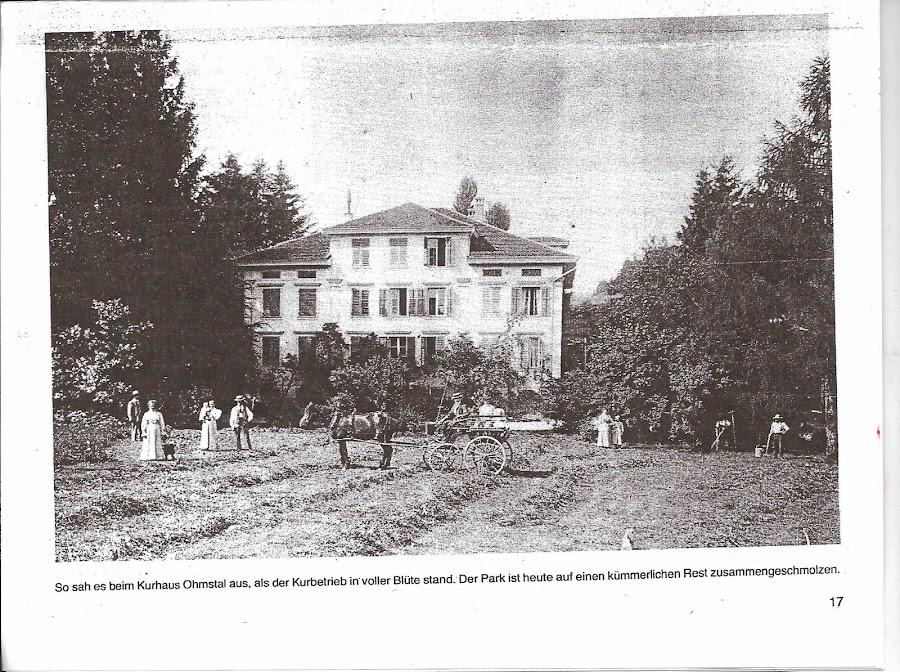 Vorderseite - Aufnahme um 1907