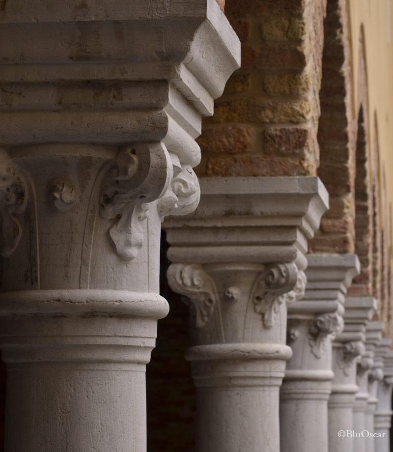 Chiostro Chiesa S Francesco della Vigna N1 18 01 2017