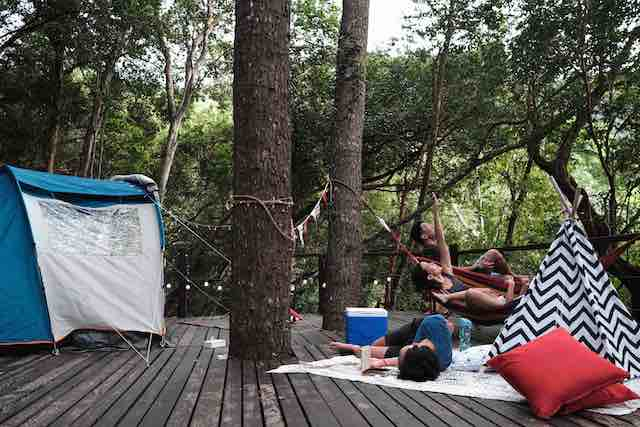 Family Camping in TSG