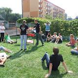 Triathlon wKędzierzynie-Koźlu. Harcerski wolontariat wakcji. Kędzierzyn-Koźle 30 sierpnia 2009