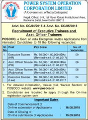 POSOCO-Recruitment-2018-notification-www.indgovtjobs.in