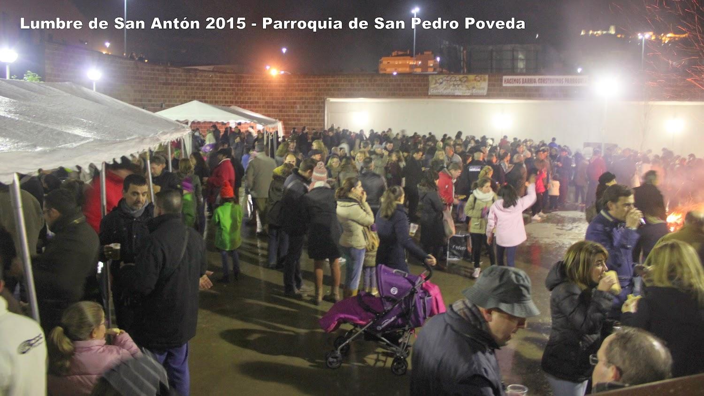 Lumbre de San Antón 2015