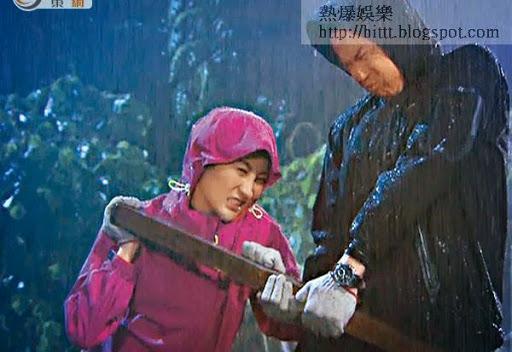 林夏薇與鄭嘉穎為救楊怡陷險境。