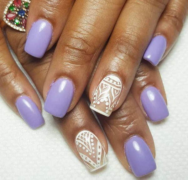 Trendy Acrylic Nail Art Designs For This Year Fashonails