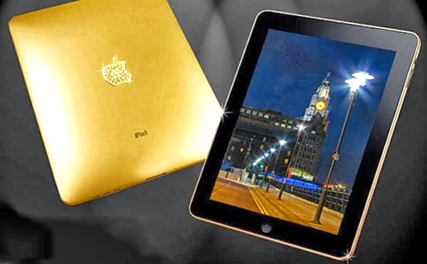 Los fans de Apple se quedaron esperando el iPad dorado