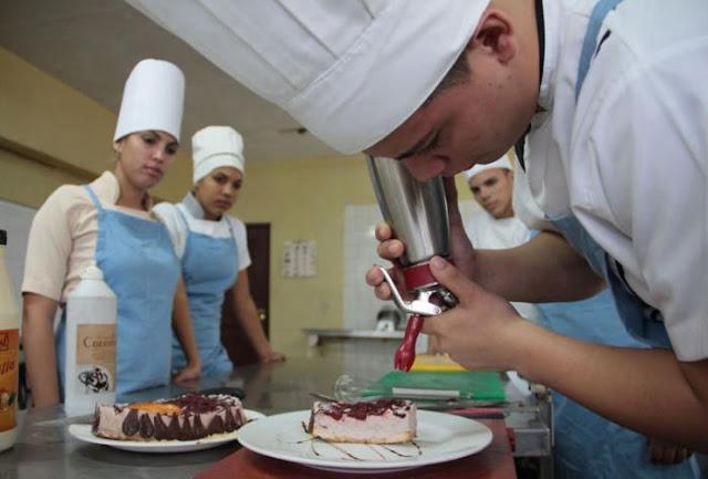 escuela hotelería cuba