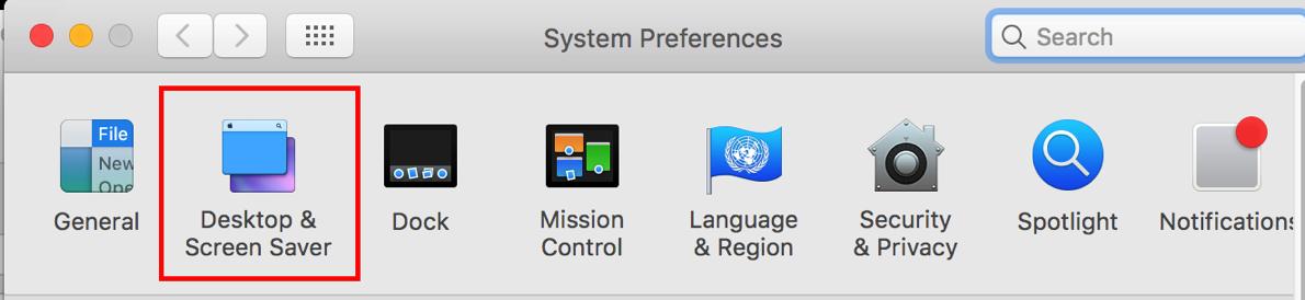 8 Desktop and Screensaver Preference
