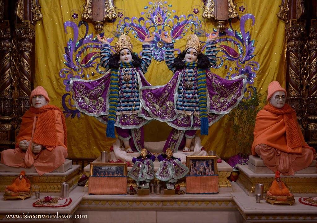 ISKCON Vrindavan Mangal Deity Darshan 14 Dec 2015 (1)