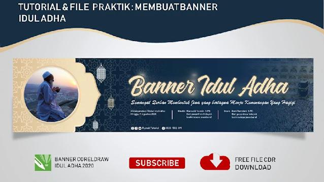 Download Spanduk Idul Adha Coreldraw Versi