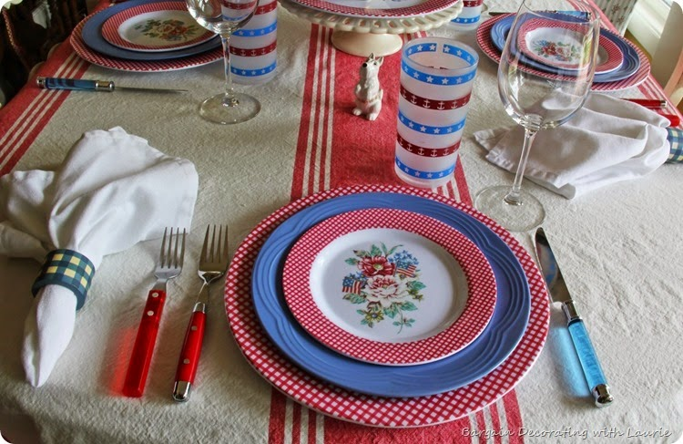 RED WHITE BLUE TABLE 2