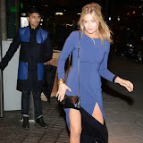 WWW.ENTSIMAGES.COM -    Laura Whitmore   arriving at        Mondrian London - hotel launch party at Mondrian London October 9th 2014New London hotel, designed by Tom Dixon and owned by Morgans Hotel Group, hosts VIP evening to mark its launch on London's South Bank in the iconic Sea Containers building next to the OXO Tower. The hotel features 359 rooms and suites, a spa, meeting spaces, riverside bar and brasserie.                                                Photo Mobis Photos/OIC 0203 174 1069