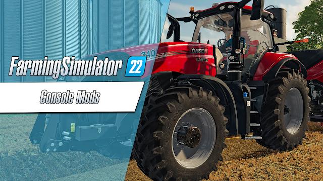 Mods de console do Farming Simulator 22