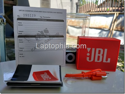 Paket Pembelian JBL Go Bluetooth Wireless Speaker