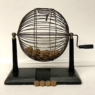 Antique Bingo Cage