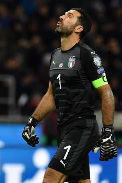 Very sad!! Buffon has officially played his last World Cup