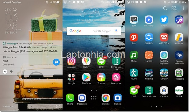 Software & Fitur Asus Zenfone Zoom S ZE553KL