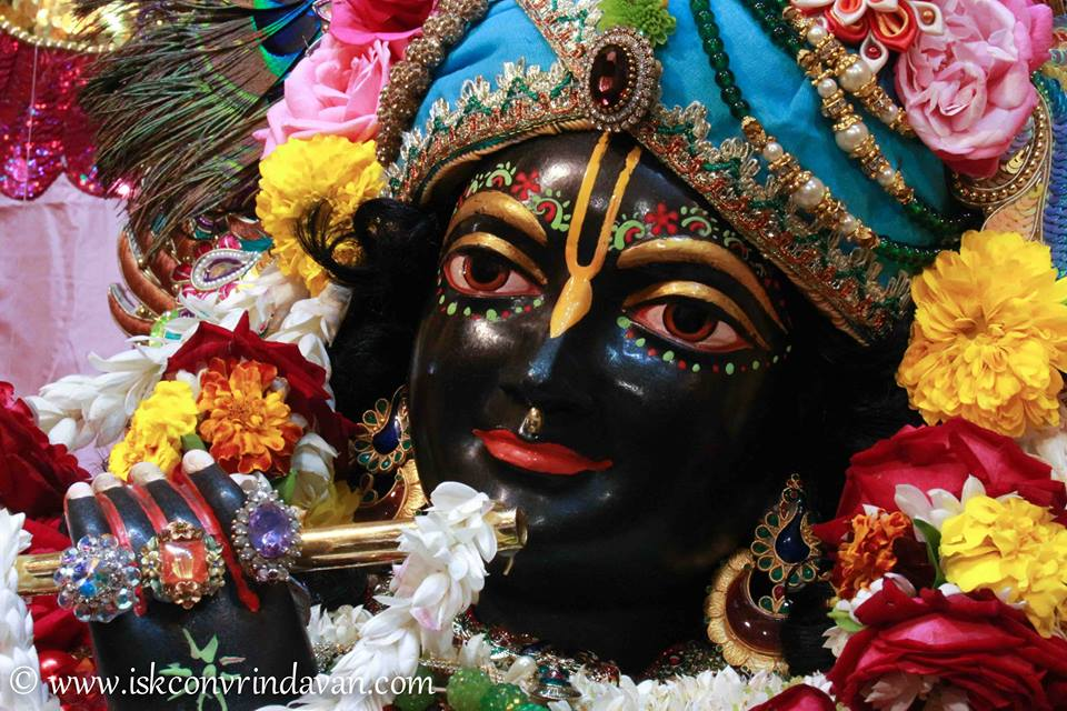 ISKCON Vrindavan Sringar Deity Darshan 15 Jan 2016  (17)