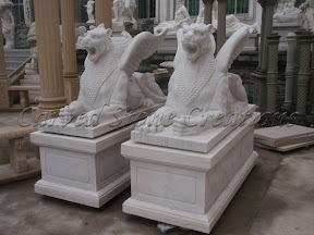 Animal, Exterior, Ideas, Natural Stone, Statues, Winged