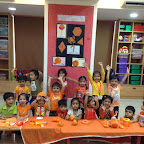 Orange Day Celebrated by Nursery Section at Witty World (2015-16)