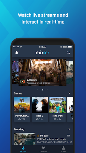 Mixer – Interactive Streaming