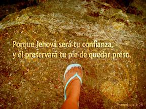 Proverbios 3.26