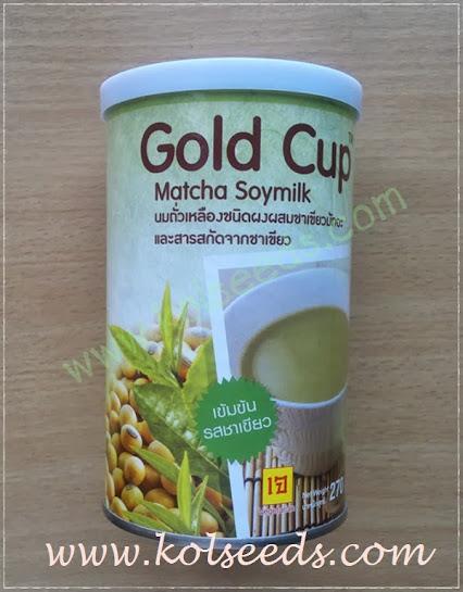 นมถั่วเหลืองผสมชาเขียวมัทฉะ สำเร็จรูป พร้อมชงดื่ม