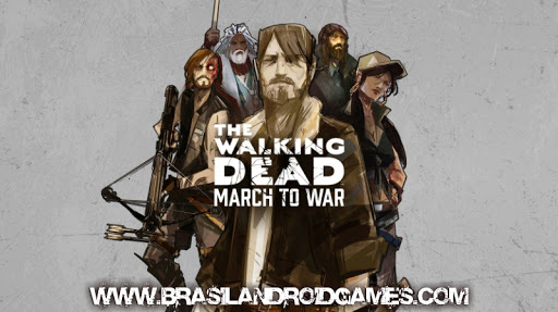 The Walking Dead: March to War Imagem do Jogo